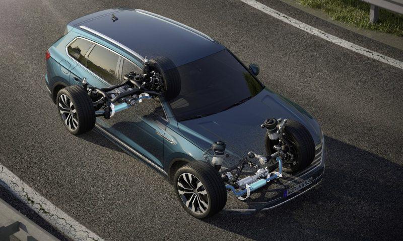 All-Wheel Steering Touareg