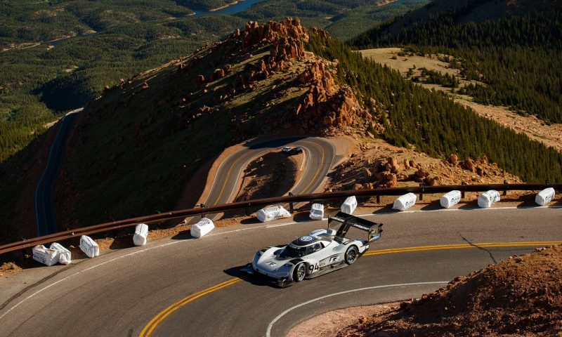 Volkswagen's Pikes Peak Record – 7 minutes 57.148 seconds
