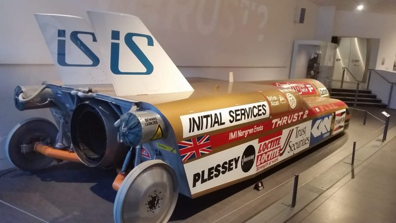 Thrust 2 – Coventry Transport Museum