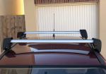 Golf Plus Roof Rack Cross bars - Genuine VW Parts, only used a few times, condition as good as new, still got the box for storage (ignore car in the photo because it's a Corsa!).