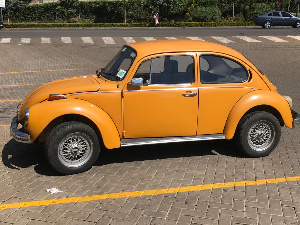 Beautiful 1973 Beetle from Africa