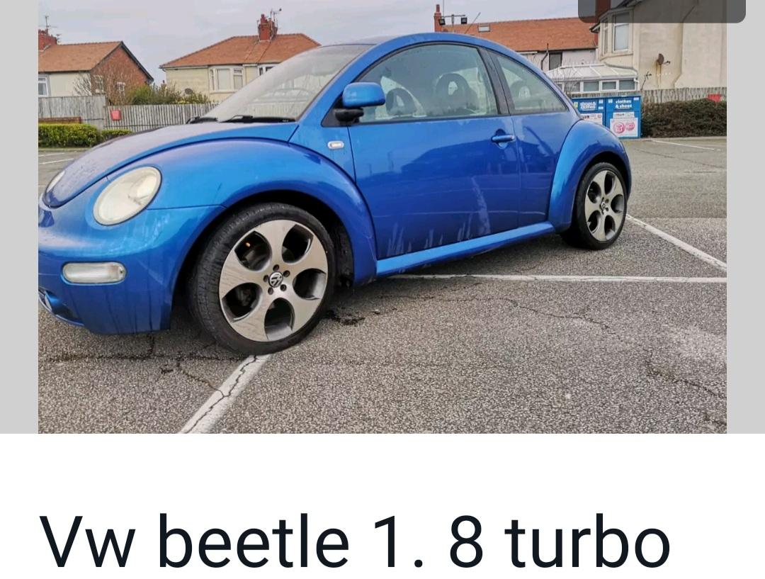 Vw beetle 1.8t 2002