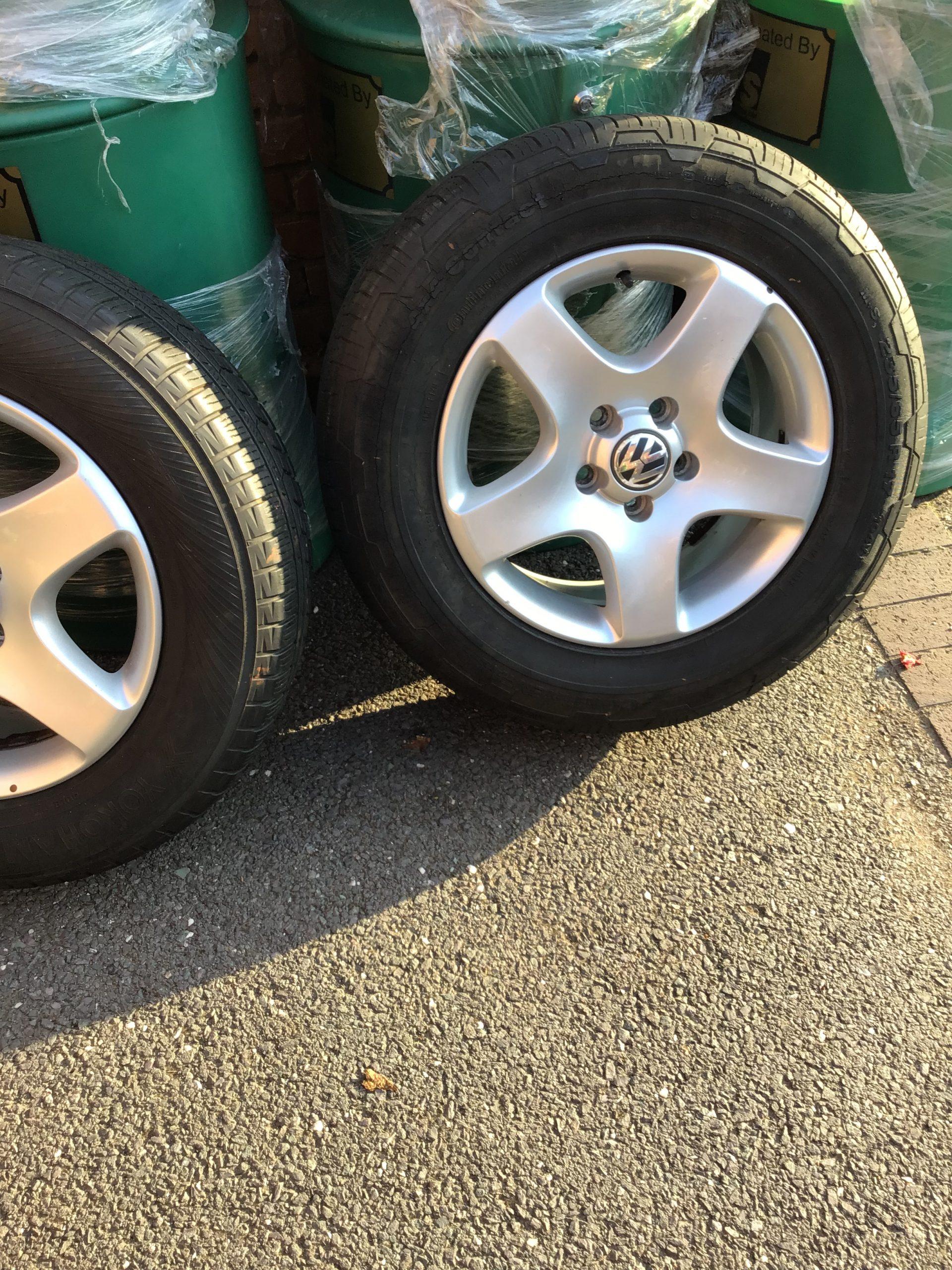 Touareg 2008 R5 alloy wheels