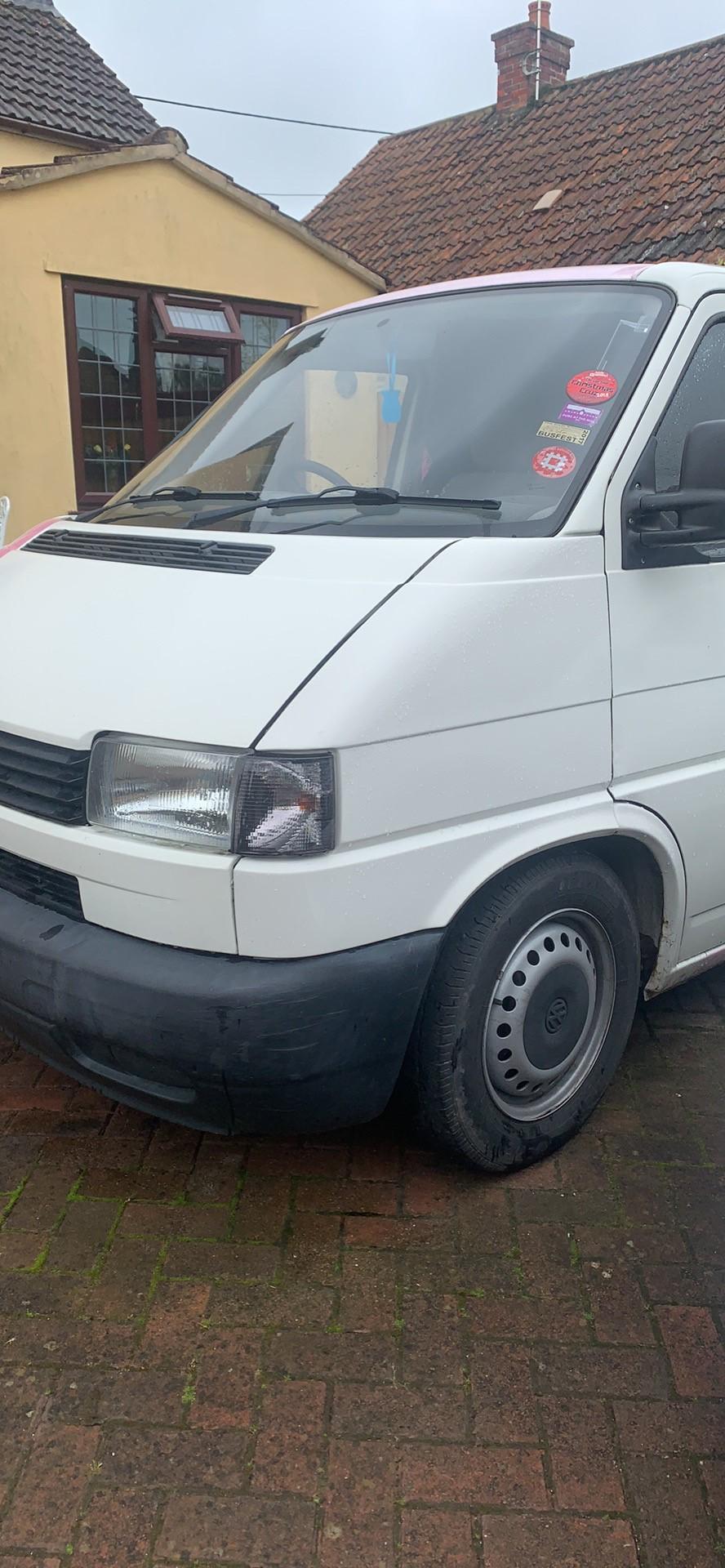 Volkswagen T4 Campervan White 1996 P reg £5k open to offers