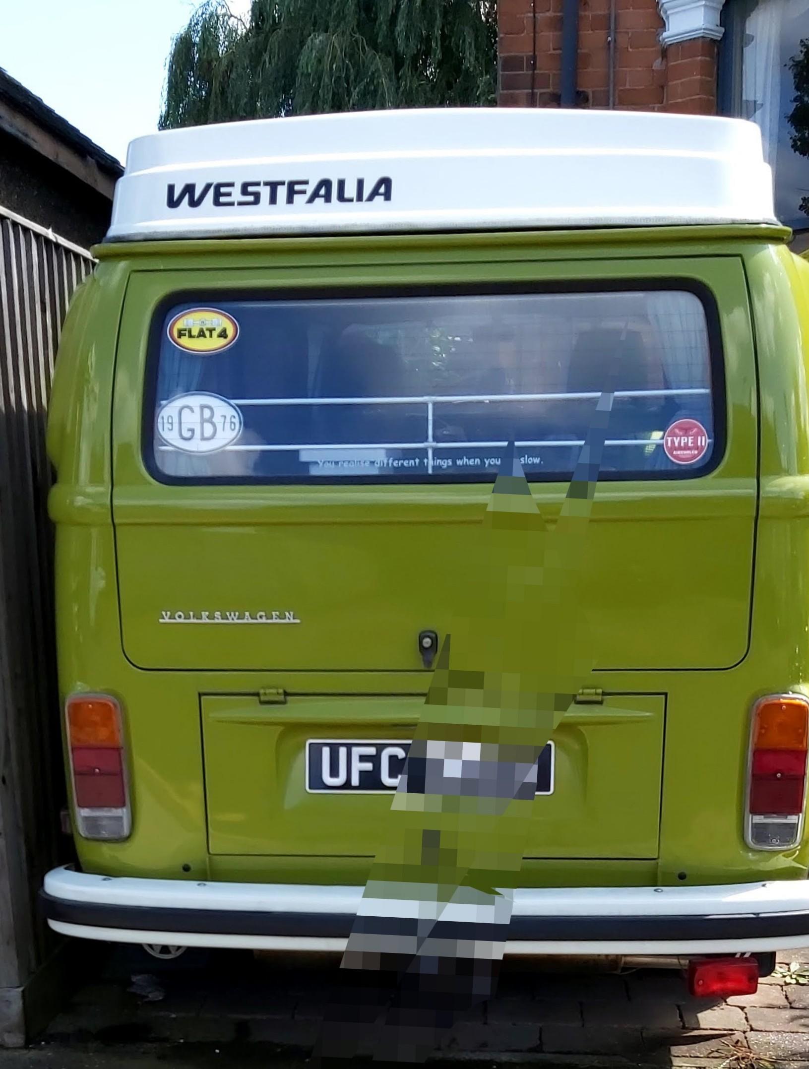 1976 Westfalia LHD American Import